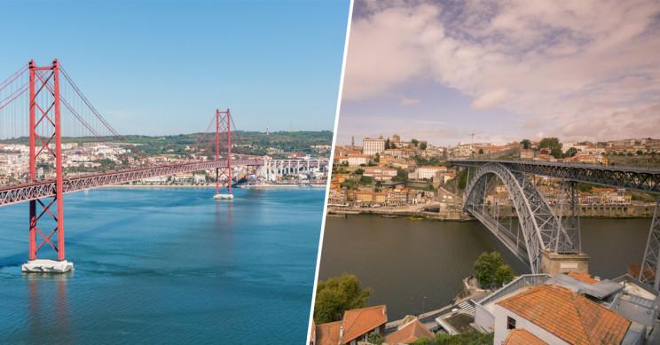 Lisboa e Porto, as cidades mais atrativas para viver em Portugal