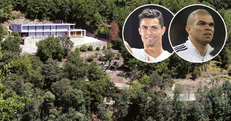 Cristiano Ronaldo vende casa de luxo no Gerês por 2,5 milhões a… Pepe