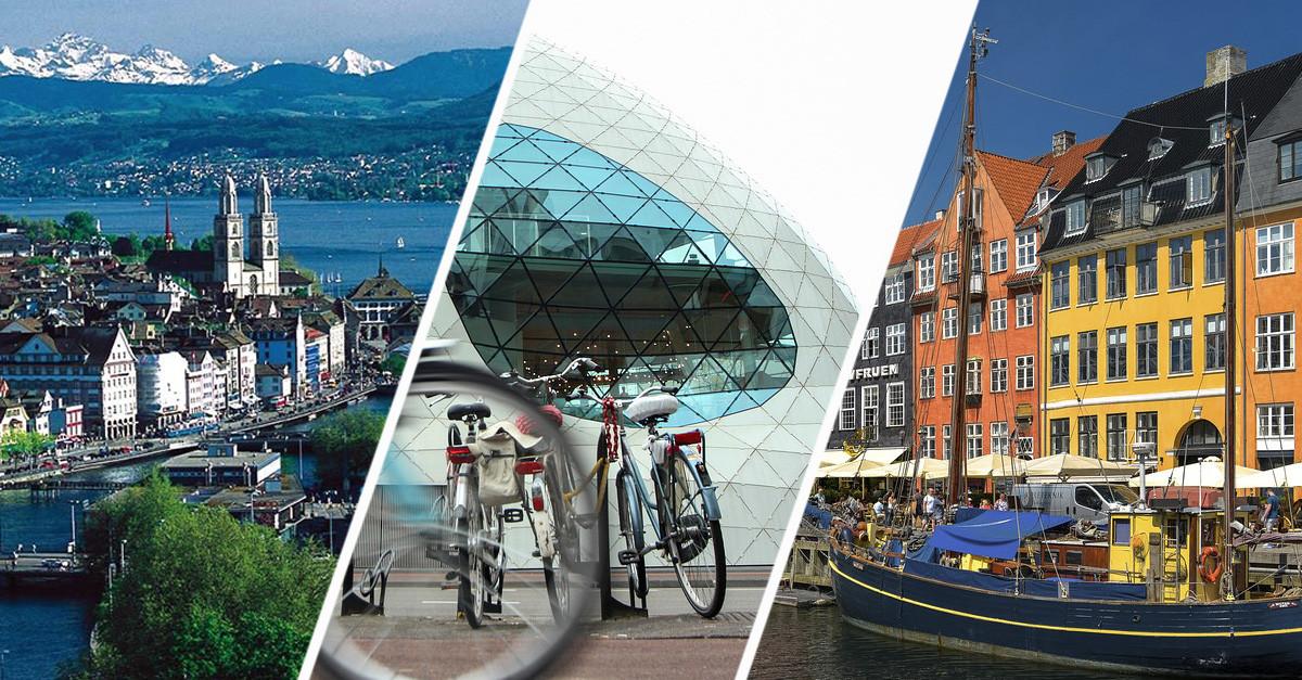 Estas são as cidades europeias com melhor qualidade de vida
