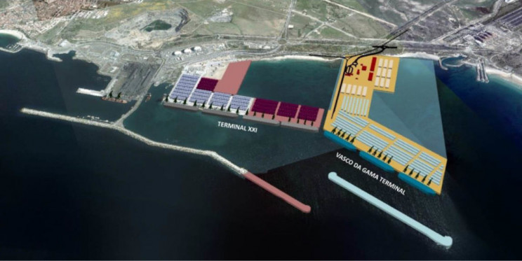 Novo terminal em Sines vai custar 642 milhões - concurso de concessão a privados lançado