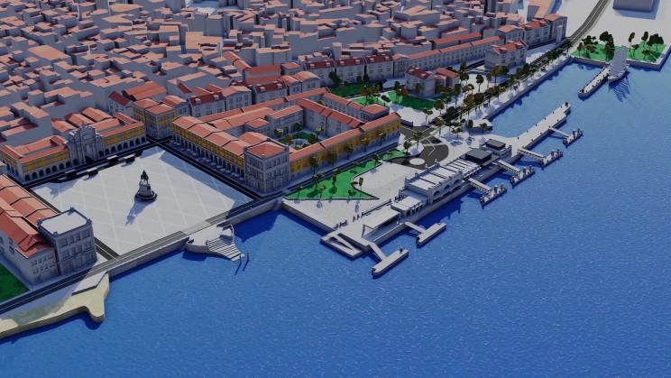 Assim vai mudar Lisboa junto ao Tejo: novo cais estará pronto em 2020