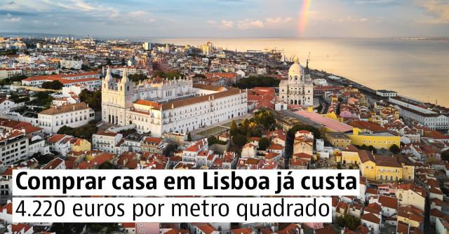 Preço das casas sobe 5,6% em Portugal no terceiro trimestre